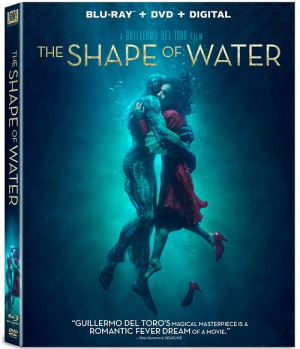 The Shape of Water (Blu-ray Disc)