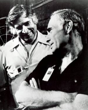 Gene Roddenberry and Harve Bennett