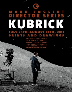 Mark Englert's Stanley Kubrick artwork