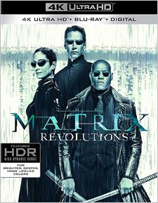 Matrix Revolutions, The (4K UHD Review)