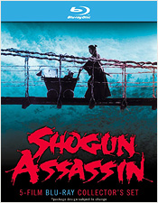 Shogun Assassin: 5-Film Blu-ray Collector's Set