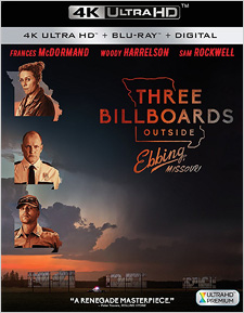 Three Billboards Outside Ebbing, Missouri (4K UHD Review)