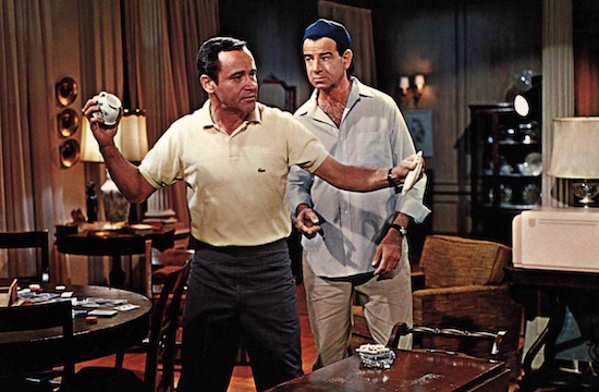 A scene from The Odd Couple