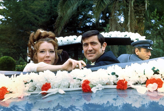 On Her Majesty's Secret Service - wedding scene